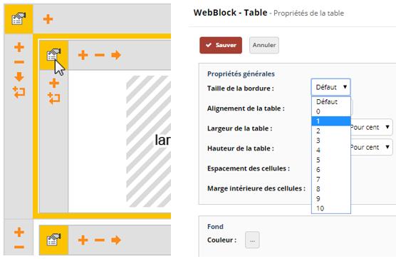 Definir Une Bordure Personnalisee Pour Un Element Table